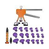 Removal Tool Kit pdr Dent Herramienta de abolladura sin la reparación de herramientas que se endereza abolladuras tirador de la herramienta de mano Ferramentas pistola de pegamento ( Color : Set 3 )