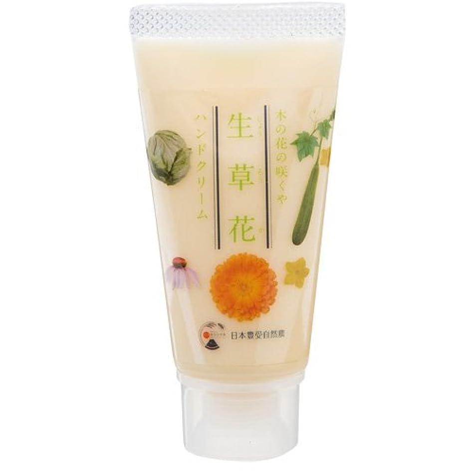 コンパス乱雑なビジュアル日本豊受自然農 木の花の咲くや 生草花 ハンドクリーム 30g