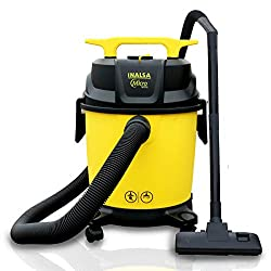 Inalsa Vacuum Cleaner Wet and Dry Micro WD10-1000W with 3in1 Multifunction Wet/Dry/Blowing| 14KPA Suction and Impact Resistant Polymer Tank,(Yellow/Black),Tuareg Marketing Pvt.Ltd,Micro WD10