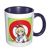 Da Shu Nisekoi Kirisaki Chitoge Blue Eyes School Uniform - Multicolor Coffee Cup 330ml Perfect for yourself friend family