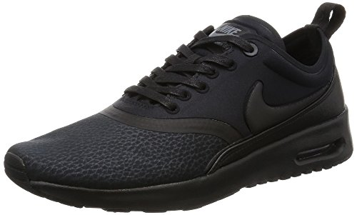 Nike Beautiful X Air MAX Thea Ultra Prem, Zapatillas de Deporte para Mujer, Negro (Black/Black/Cool Grey), 36.5 EU