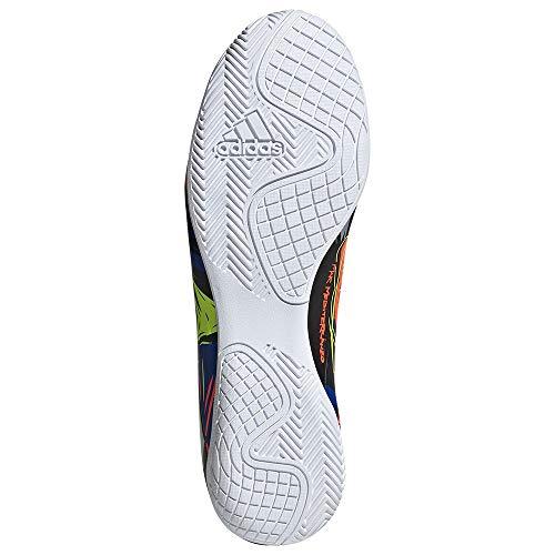 adidas Nemeziz Messi 19.4 IN, Zapatillas de fútbol Hombre, AZUREA/Plamet/Amasol, 42 EU