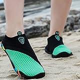 Zapatos De Vadeo De Surf Antideslizantes para Snorkel, Botas De Playa Transpirables Y De Secado Rápido para Parejas Al Aire Libre, Zapatos River con Suela Blanda Descalzo Y Parche