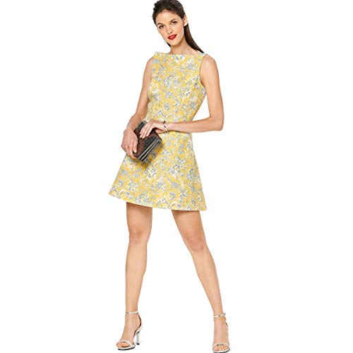Burda Schnittmuster, 6209, Jacquard-Kleid selber nähen [Damen] Level 3 für Fortgeschrittene