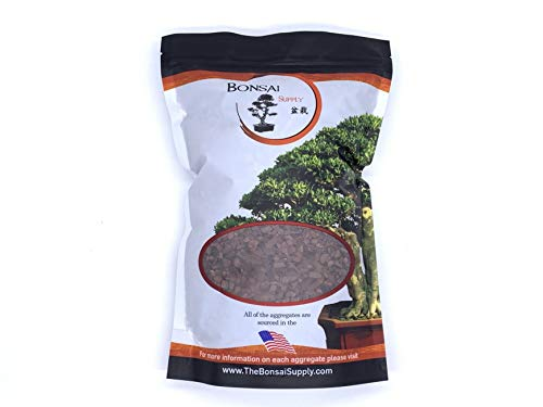 Pine Bark Fines for Bonsai, Orchids and Other Potted Plant Soil mixes. 1/4' Particle Size, 2 Quart resalable Bag by The Bonsai Supply