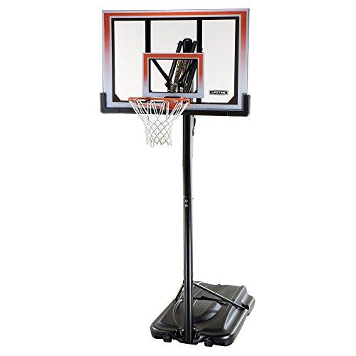 Lifetime 50 Inch Shatter Proof Portable Basketball...