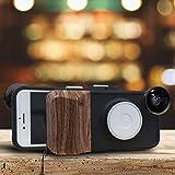 9 Helligkeitsstufen Schönheit Selfie Light Fill Light Phone Case, mit Weitwinkel + Makro +...