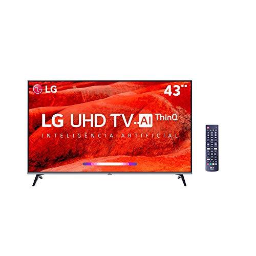 """Smart TV LG 43"""" 4K HDR Ativo 43UM7510"""