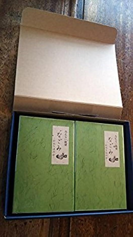 経由でジュース矢淡路梅薫堂のお線香 なごみ 135g お線香贈答用 お供え物 (1セット(2箱))
