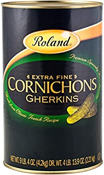 Roland Foods Premium Quality Small Cornichons Gherkins