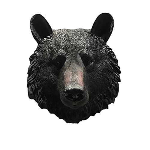 GAOLILI Decoración de la Pared León Cabeza Pared Colgando Animal Cabeza decoración de la Pared Colgante