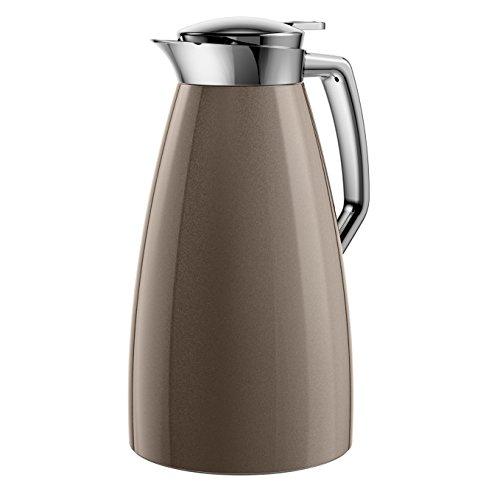 Emsa 514187 Isolierkanne, 1 Liter, Aroma Diamond, Quick Tip Verschluss, 100% dicht, Bronze, Plaza