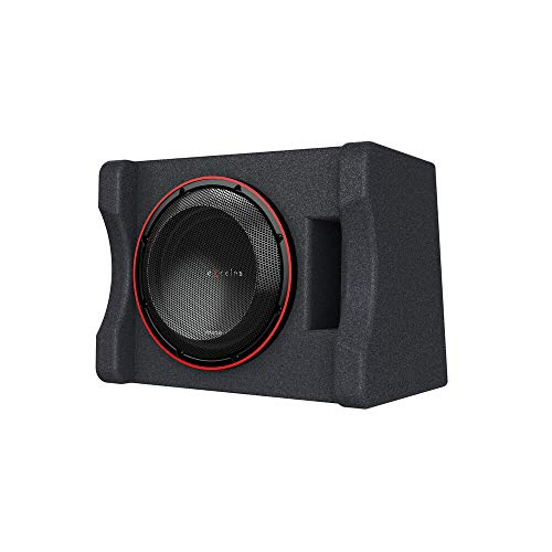 Kenwood Excelon P-XW1221SHP 12  Preloaded High Power Subwoofer Enclosure | Ported Enclosure with One 2-ohm 12  Subwoofer