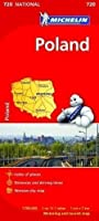 Poland - Michelin National Map 720 (Michelin National Maps) by NA(2012-04-02)