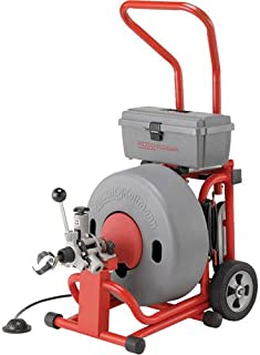 Ridgid 95737 K-6200 115V Drum Machine for 3-Inch to 6-Inch Drain or Sewer Lines with 5/8-Inch Pigtail