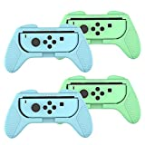 Grips for Nintendo Switch Joy Con, Animal Crossing Joycon Grip for Racing Games Car Games Family Games (4 Packs)