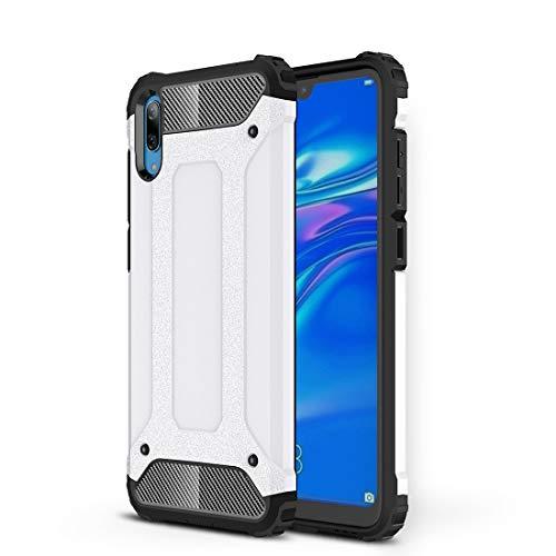MDYHMC YXCY AYCD Magic Armor TPU + PC Funda combinada para Huawei Disfruta 9 (Negro) (Color : White)
