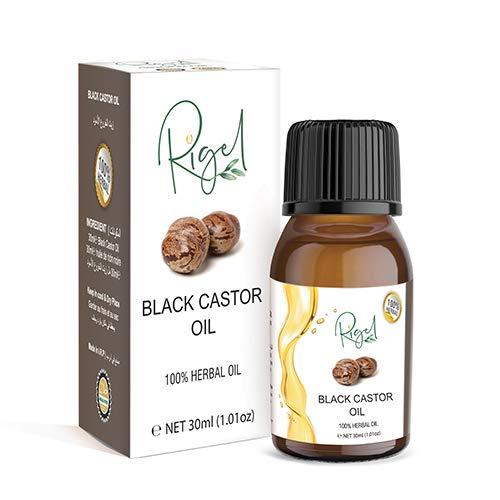RIGEL - 100% Herbal Jamican Black Castor Oil | Caster Oil For Hair Care - 30ml