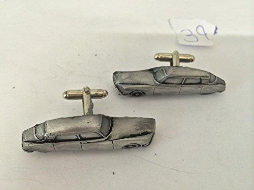 Citroen DS2 retard (Version) 3D-Boutons de manchette Homme-Classique-Bouton De Manchette en étain effet ref39