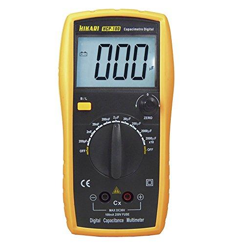 Capacímetro Digital até 20.000µF Hikari HCP-100