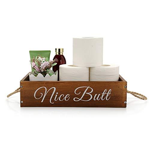 Arredo bagno scatola - divertente porta carta igienica - arredamento bagno fattoria, arredamento bagno rustico, decorazioni per la casa rustica fattoria