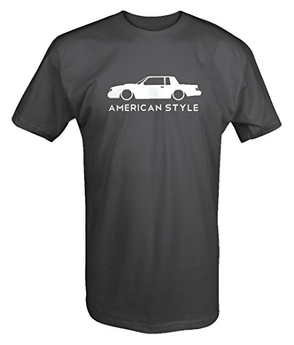 American Style Buick Grand National Turbo GNX Lowered Racing T shirt - 3XL
