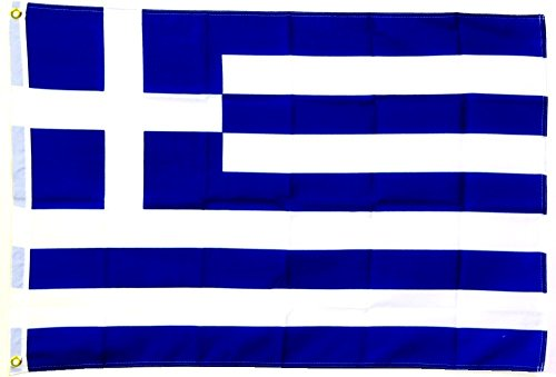 Fahne Flagge Griechenland 30 x 45 cm [Spielzeug]
