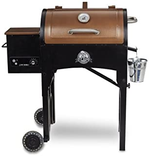 Pit Boss Portable Tailgate/Camp With Foldable Legs Pellet Grill, Tan (340 sq. in.)