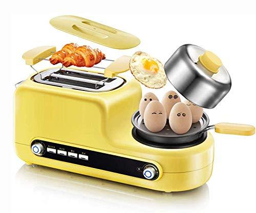 RHSMP Multifunctionele broodrooster, 3-in-1, stoomkoker voor eieren, keuken