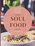 Soul Food. Meal and Grocery Planner. 55 Week: Nude Meal Jour