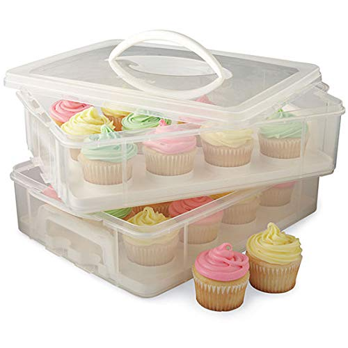 Present Avenue 2 Layer Cookie, Cake & Brownie Carrier