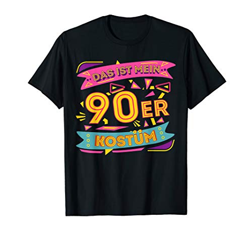 Das ist mein 90er Kostüm Kleidung Party Outfit Mode 90s T-Shirt