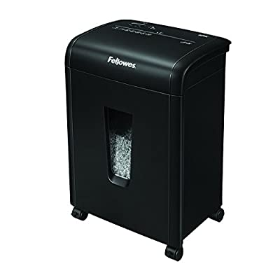 Fellowes 10MC 10-Sheet Micro-Cut Home and Office Paper Shredder
