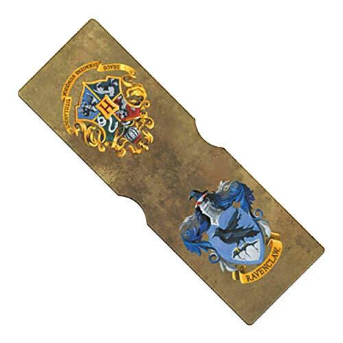 Harry Potter Official - Tarjetero diseño Ravenclaw (Talla Única/Marrón/Azul)