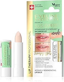 Eveline Lip Therapy Professional SOS Expert Tint Nude Lip Balm, 4g