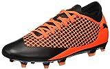 Puma Herren Future 2.4 FG/AG Fußballschuhe, Schwarz Black-Shocking Orange 02, 42.5 EU