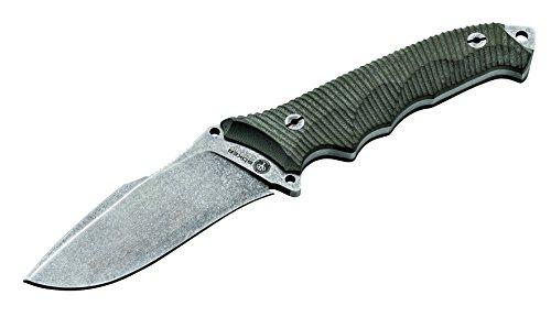 BÖKER Arbolito Buffalo Soul 42 Micarta 02BA316M - Cuchillo (Uso en Cocina o como Machete)