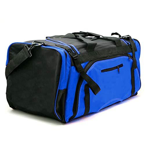 AAMA Martial Arts Taekwondo Sparring Gear Equipment Bag - Blue - Large