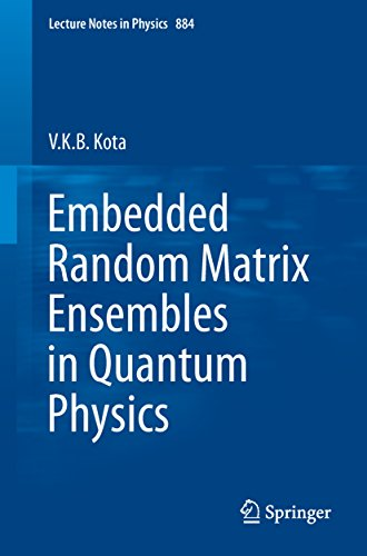 Embedded Random Matrix Ensembles in Quantum Physics (Lecture Notes in Physics Book 884) (English Edition)