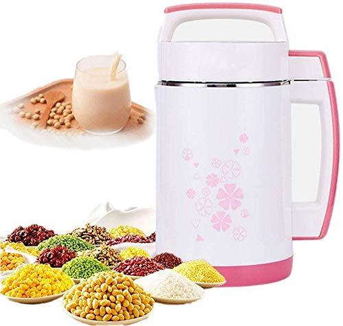 QINGTIAN 2L Multifunktions-Sojamilchmaschine Reispastenhersteller,Edelstahlfilterfreie automatische Heizung Sojabohnenmilch-Entsafter,Intelligentes Bedienfeld,800 W.
