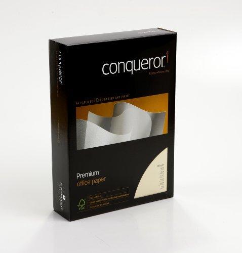 Conqueror Premium Pergamentpapier, Büttenpapier, A4, Creme, CX22 100 g/m2, 500 Blatt