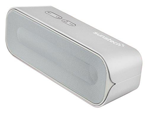 Sunstech SPUBT770SL - Altavoz estéreo con Bluetooth y micrófono (SD, USB, 6...