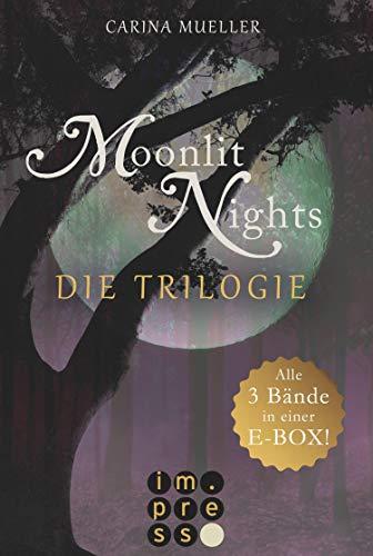 Moonlit Nights: Alle drei Bände in einer E-Box!: Romantischer Werfwolf-Liebesroman für Fantasy-Fans