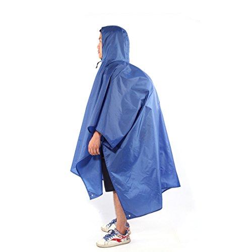 AOTU Gymforward Housse de Sac à Dos 3 en 1 avec Capuche imperméable pour Adulte et extérieur, Bleu