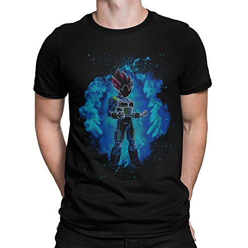 Camisetas La Colmena 2532-VEGETA God Soul (Donnie)