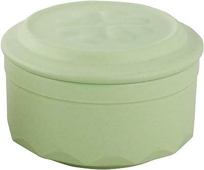 東彼セラミックス 保存容器 グリーン 直径10.4x高さ6.9cm ニューねぎっ庫2 S-17N(G)