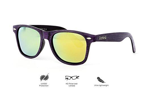 Catania Occhiali  Occhiali da Sole Polarizzati - Modello Vintage Classico - Uomo e Donna UV400 (Lenti Polarizzate) Include Custodia