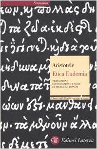 Etica eudemia. Testo greco a fronte