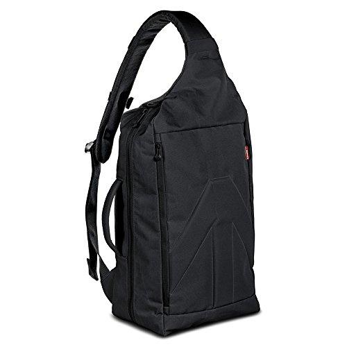 Manfrotto Brio 30 Sling case Schwarz - Kamerataschen/-Koffer (Sling case, Universal, Notebook-Gehäuse, Schwarz)
