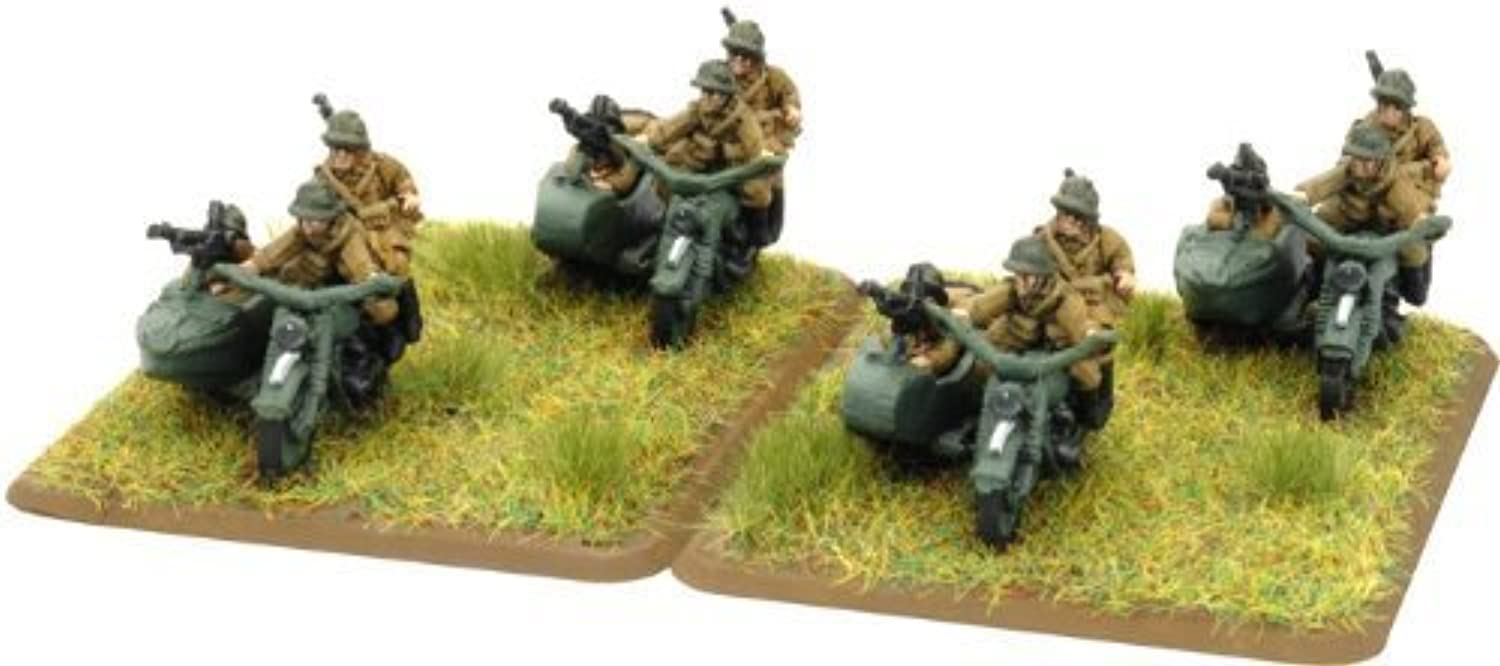 elige tu favorito Flames Of War French Fusiliers Motocyclistes Squad Squad Squad (Early War, 1 Squad or HQ) by Flames of War  grandes precios de descuento